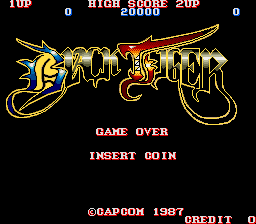 Black Tiger Title Screen