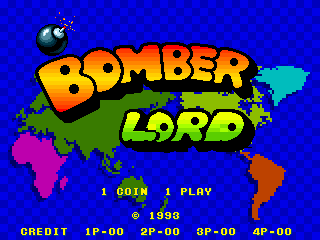 Bomber Lord (bootleg) Title Screen