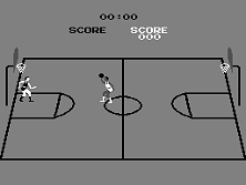 Basketball Title Screen