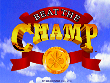 Beat the Champ (GV053 UAA01) Title Screen