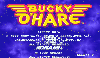 Bucky O'Hare (ver EAB) Title Screen