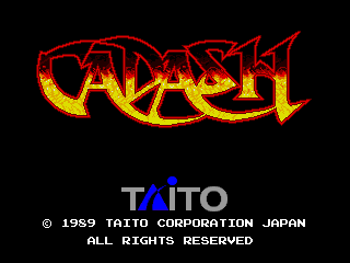 Cadash (Germany, version 1) Title Screen