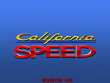 California Speed (Version 2.1a Apr 17 1998, GUTS 1.25 Apr 17 1998 / MAIN Apr 17 1998) Title Screen