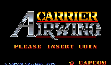 Carrier Air Wing (World 901012) Title Screen