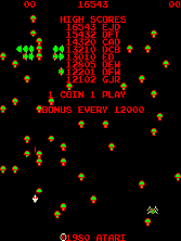 Centipede (revision 4) ROM < MAME ROMs | Emuparadise