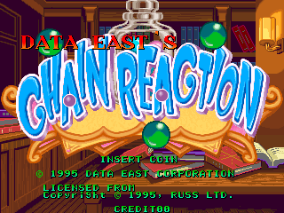 Chain Reaction (World, Version 2.2, 1995.09.25) Title Screen