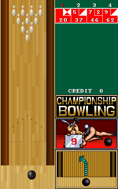 Championship Bowling Title Screen