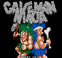 Caveman Ninja (bootleg) Title Screen