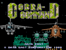 Cobra-Command (World revision 5) Title Screen