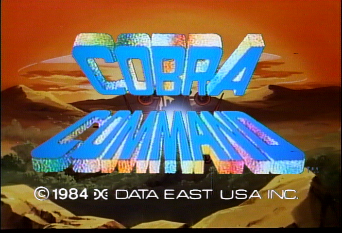 Cobra Command (M.A.C.H. 3 hardware) Title Screen