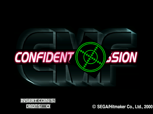 Confidential Mission (GDS-0001) Title Screen