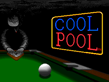 Cool Pool Title Screen