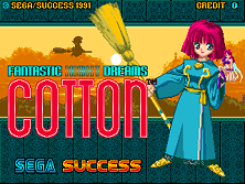 Cotton (set 4, World) (FD1094 317-0181a) Title Screen