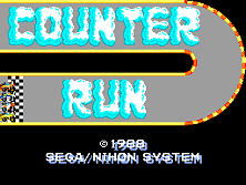 Counter Run (NS6201-A 1988.3) Title Screen