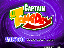 Captain Tomaday Title Screen