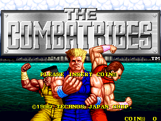 The Combatribes (US set 1?) Title Screen