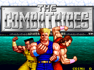 The Combatribes (bootleg set 2) Title Screen