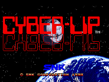 Cyber-Lip Title Screen