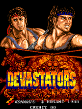 Devastators (ver. Z) Title Screen