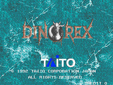 Dino Rex (World) Title Screen