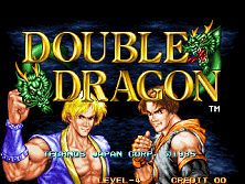 Double Dragon Title Screen