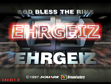 Ehrgeiz (US, EG3/VER.A) Title Screen