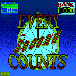 Every Second Counts (39-360-053) Title Screen