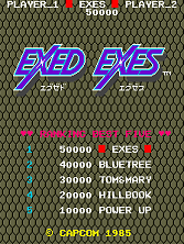 Exed Exes Title Screen