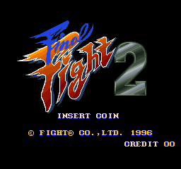 Final Fight 2 (SNES bootleg) Title Screen