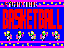 Fighting Basketball Title Screen