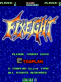 FixEight (Europe) Title Screen
