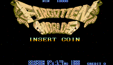 Forgotten Worlds (World, newer) Title Screen