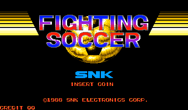 Fighting Soccer (version 4) Title Screen