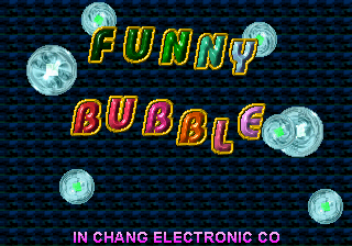 Funny Bubble Title Screen