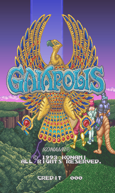 Gaiapolis (ver EAF) Title Screen