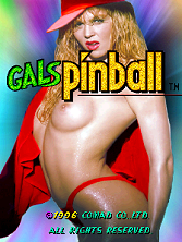 Gals Pinball Title Screen