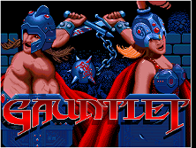 Gauntlet (rev 14) Title Screen