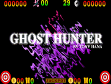 Ghost Hunter Title Screen
