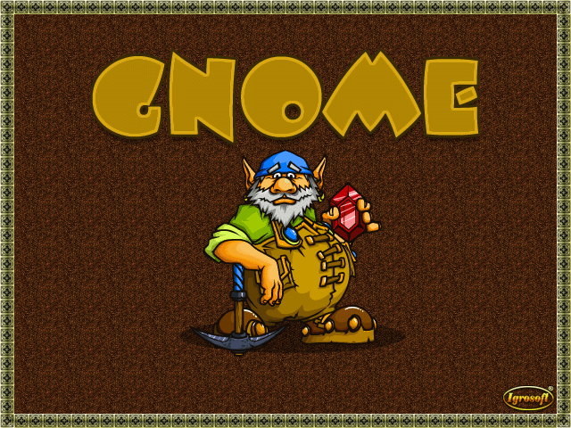 Gnome (bootleg, 071115, banking address hack) Title Screen