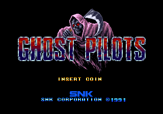 Ghost Pilots (NGH-020, US) Title Screen