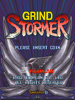 Grind Stormer Title Screen