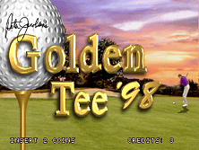 Golden Tee '98 (v1.10) Title Screen