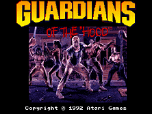 Guardians of the 'Hood Title Screen