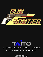 Gun & Frontier (World) Title Screen