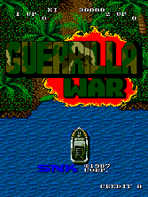 Guerrilla War (US) Title Screen