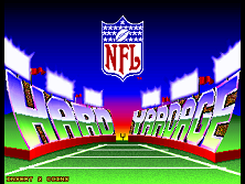 Hard Yardage (v1.20) Title Screen
