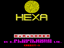 Hexa Title Screen