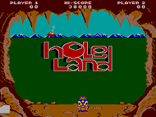 Hole Land (Japan) Title Screen