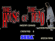 House of the Dead Title Screen