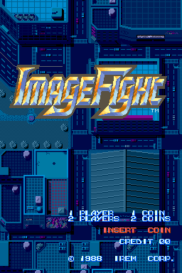Image Fight (World, revision A) Title Screen